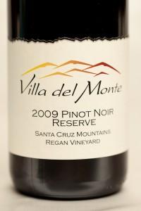 Award-winning Villa del Monte Pinot Reserve