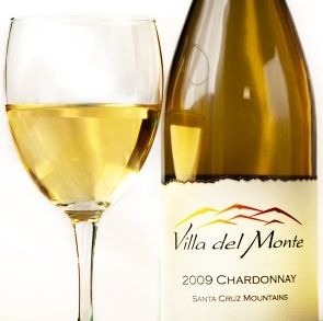 Glass of Villa del Monte wine
