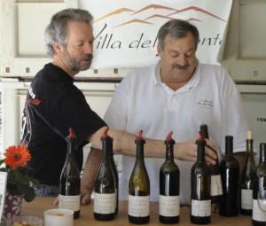 Winemakers John Overstreet and Neil Perrelli