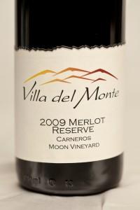 Villa del Monte Merlot Reserve Carneros