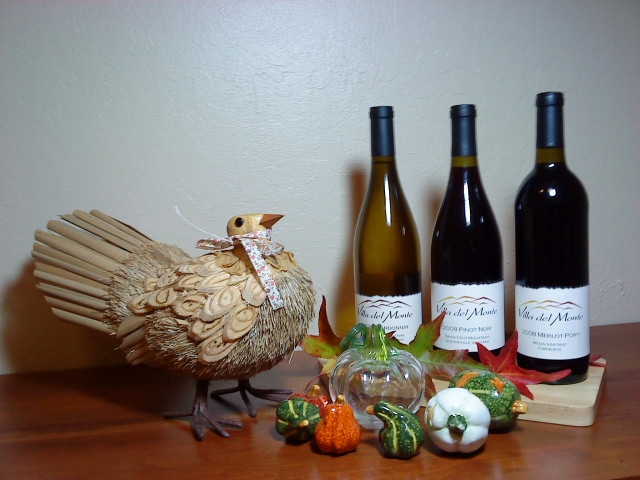 Happy Thanksgiving from Villa del Monte Winery
