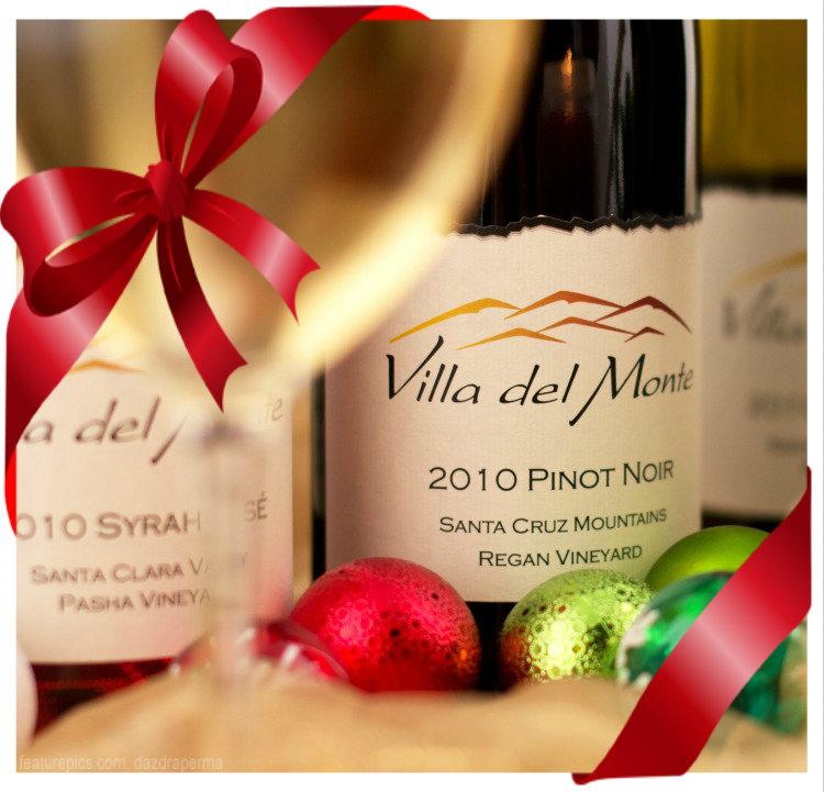Villa del Monte Winery Happy Holidays