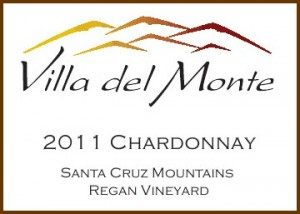 Villa del Monte 2011 Santa Cruz Mountains Chardonnay