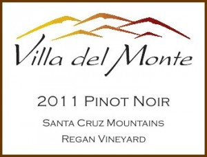 Viilla del Monte 2011 Pinot Santa Cruz Mountains