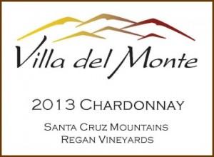 Villa del Monte 2013 Santa Cruz Mountains Chardonnay
