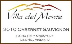 Viilla del Monte Santa Cruz Mountains Cabernet Lindhill