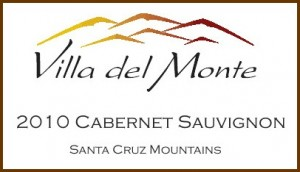 Viilla del Monte Santa Cruz Mountains Cabernet