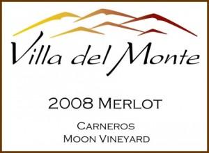 Viilla del Monte 2008 Merlot Carneros