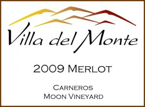 Viilla del Monte 2010 Merlot Carneros