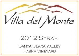 Villa del Monte 2012 Syrah