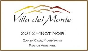 Villa del Monte 2012 Pinot