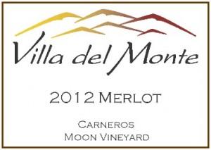 Villa del Monte 2012 Merlot Carneros