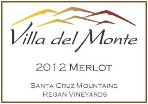Villa del Monte 2012 Merlot Regan