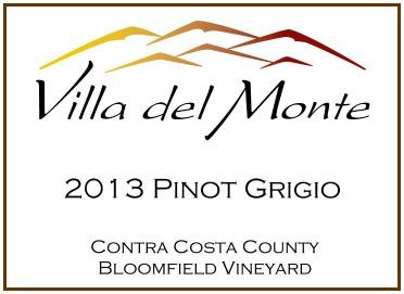 Villa del Monte 2013 Pinot Grigio