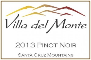 Villa del Monte 2013 Pinot Santa Cruz Mountains