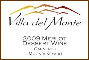 Villa del Monte Merlot Dessert Wine