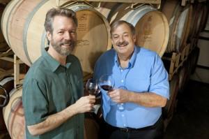 Villa del Monte winemakers John and Neil